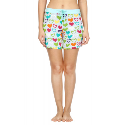 Nuteez 'Flirty' Printed Shorts