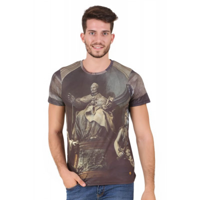 HouseOfFett Roman Sculpture Print Short Sleeve T-shirt