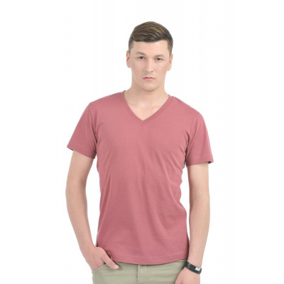 HouseOfFett Marsala Casual Cotton T-shirt