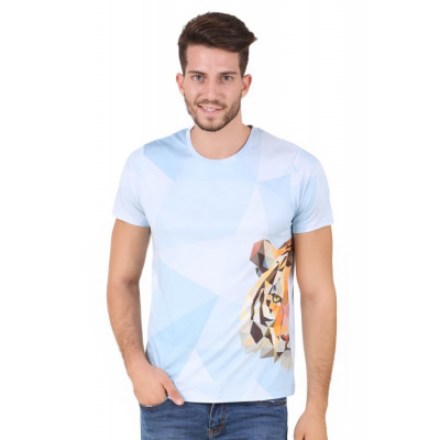 HouseOfFett Tiger Face Print T-shirt