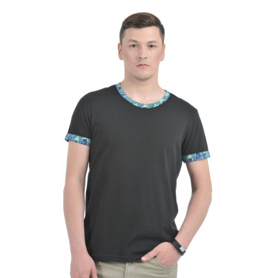 HouseOfFett Black Round Neck T-shirt