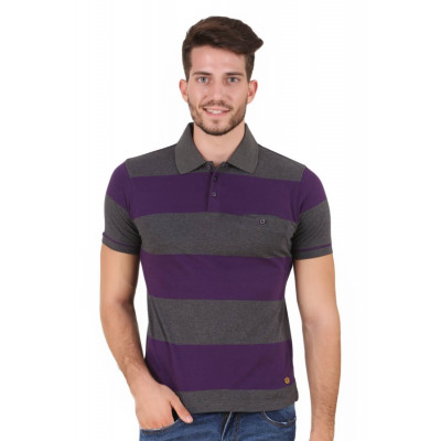 HouseOfFett Striped Polo Shirt