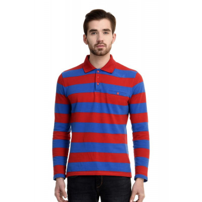 HouseOfFett Classic Striped Polo Shirt