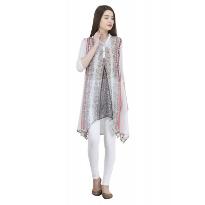 House of Fett Asymmetric Tunic Kurti