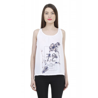 House of Fett Printed Summer Top