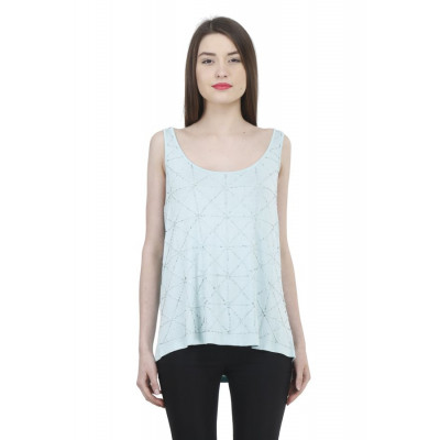 House of Fett Embroidered Summer Top