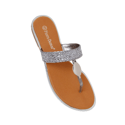 Pierre Dumas Slip Ons with Silver Embellishment