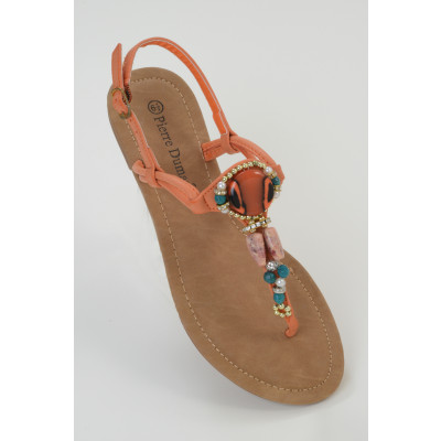 Pierre Dumas Embellished Sandals