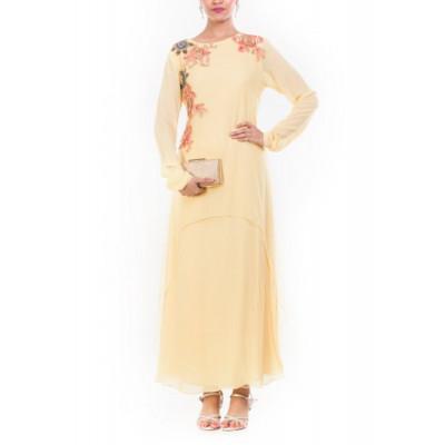 Anju Agarwal Yellow Tunic