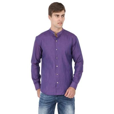 Mayank Modi Purple Shirt