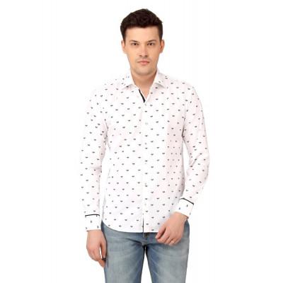 Mayank Modi Printed Casual Shirt
