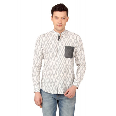 Mayank Modi Grey Shirt