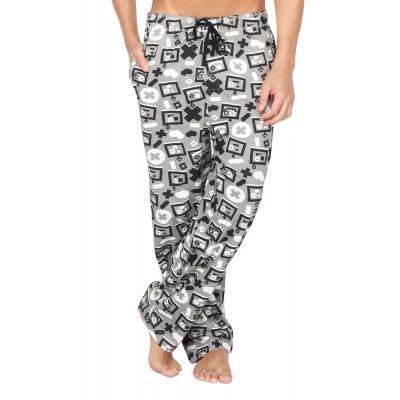 Nuteez Bad Robot Printed Pyjama