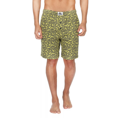 Nuteez Bottles Printed Shorts