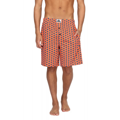 Nuteez Hexagon Printed Shorts