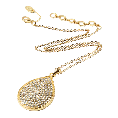 Amrita Singh Ayla Crystal Pendant Necklace