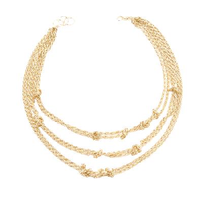 Amrita Singh Aztec Knot Necklace