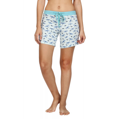 Nuteez 'Nymph' Printed Shorts