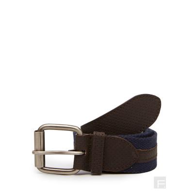 Camelio Blue Perforated Belt