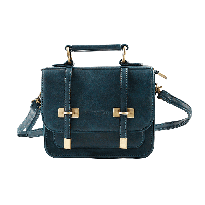 Eva Blue Satchel Bag