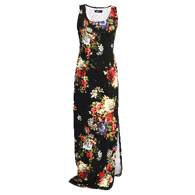 Manoviraj Khosla Floral Printed Maxi Dress