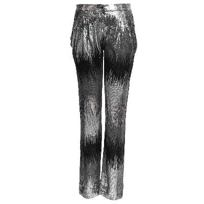 Manoviraj Khosla Sequin Pleated Trousers