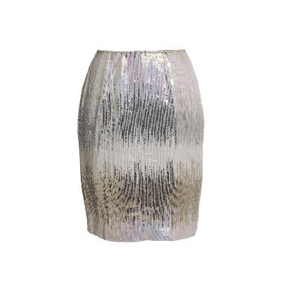 Manoviraj Khosla Sequinned Skirt