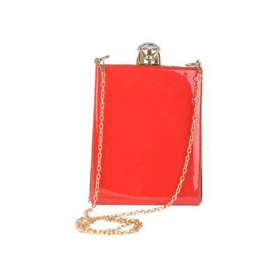 Rubans Classic Red Clutch