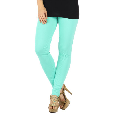 Uptown Galeria Mint Green Cotton Leggings