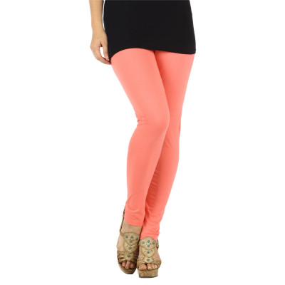 Uptown Galeria Coral Cotton Leggings