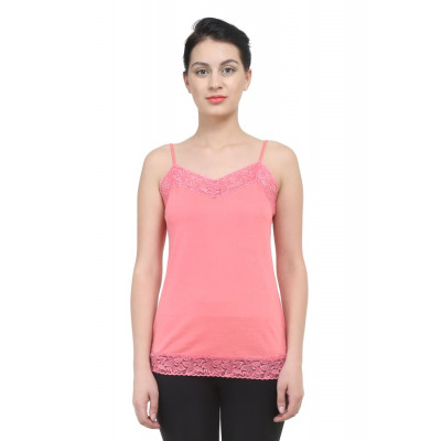 Uptowngaleria Pink Lace Camisole