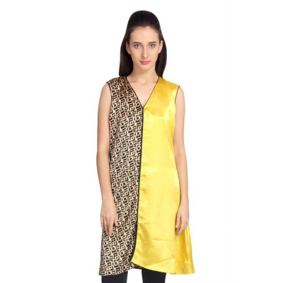 Vodka Fashion India Yellow Tunic