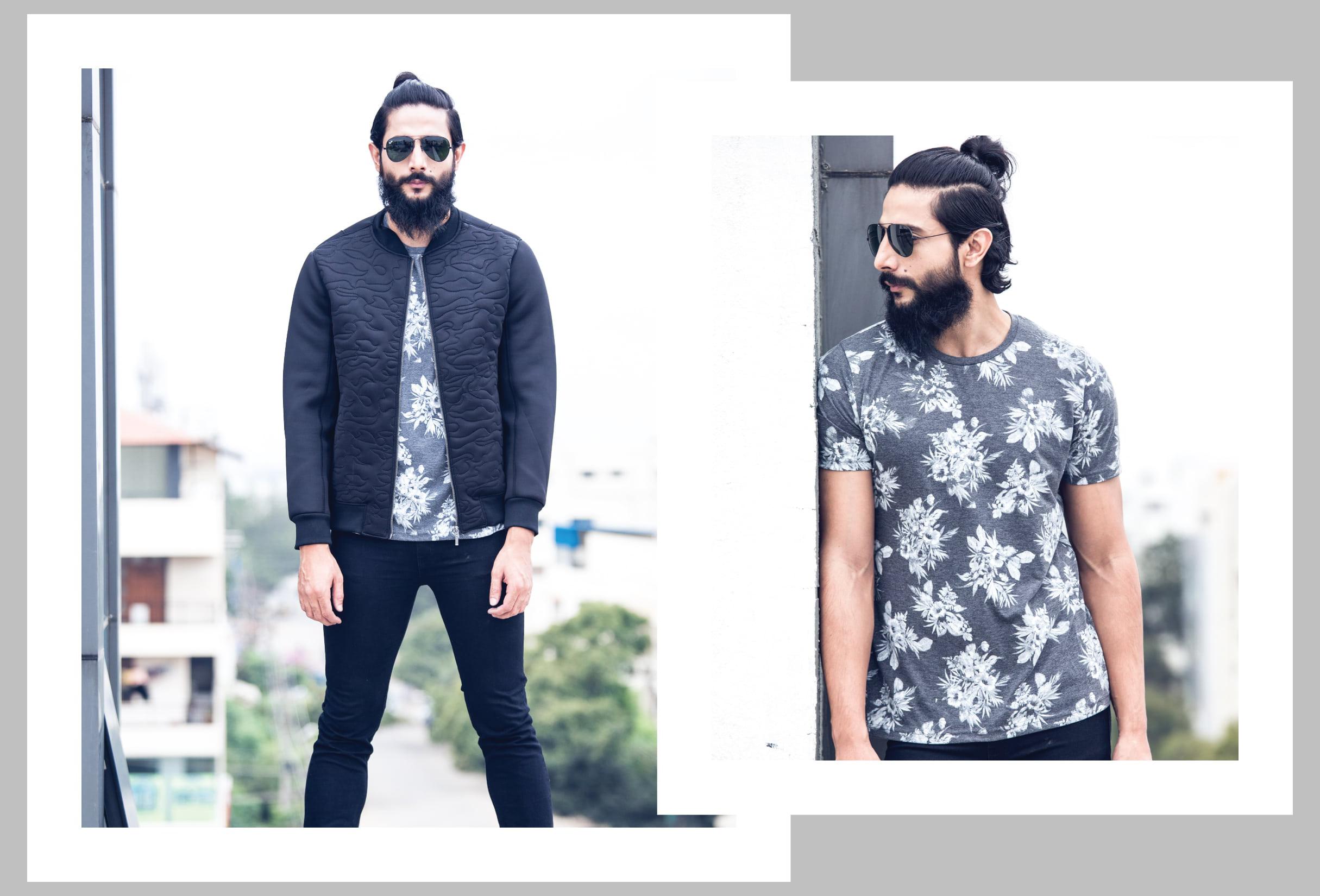 Kamaljeet_Rana_Floral_Prints_Sporty_Jacket_Fashion_Style