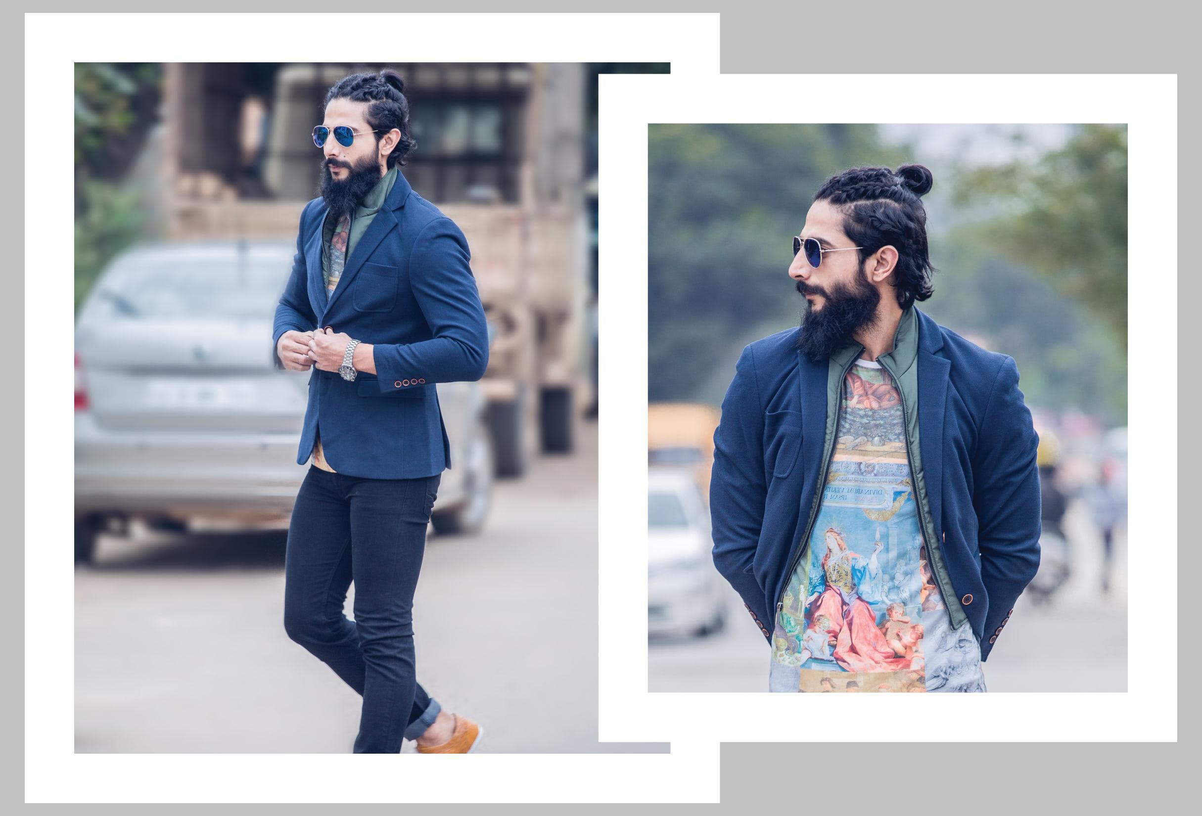 Kamaljeet_Rana_Layered_Jacket_Graphic_Tshirt_Fashion_Style