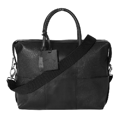 Kaizu Textured Laptop Messenger Bag